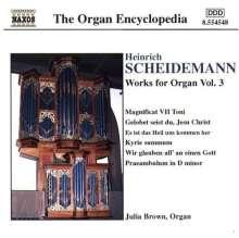 Heinrich Scheidemann (1596-1663): Sämtliche Orgelwerke Vol.3, CD