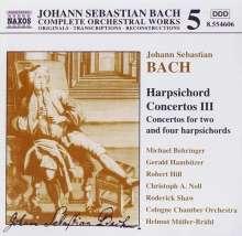 Johann Sebastian Bach (1685-1750): Cembalokonzerte Vol.3, CD