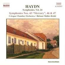 Joseph Haydn (1732-1809): Symphonien Nr.43,46,47, CD