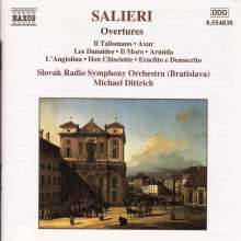Antonio Salieri (1750-1825): Ouvertüren, CD