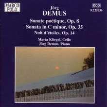 Jörg Demus (geb. 1928): Sonaten für Cello & Klavier opp.8 & 35, CD