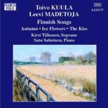 Toivo Kuula (1883-1918): Finnische Lieder, CD