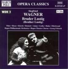 Siegfried Wagner (1869-1930): Bruder Lustig, 3 CDs