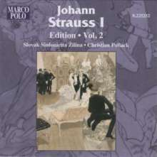 Johann Strauss I (1804-1849): Johann Strauss Edition Vol.2, CD