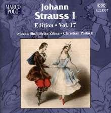 Johann Strauss I (1804-1849): Johann Strauss Edition Vol.17, CD