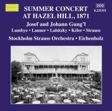 Stockholm Strauss Orchestra - Summer Concert At Hazel Hill 1871, CD
