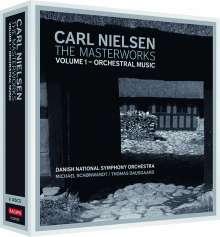Carl Nielsen (1865-1931): Carl Nielsen - Masterworks 1: Orchestermusik, 4 CDs