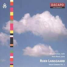 Rued Langgaard (1893-1952): Violinsonaten Vol.2, CD