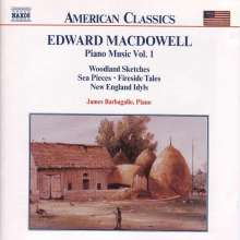 Edward MacDowell (1861-1908): Klavierwerke Vol.1, CD