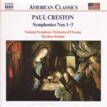 Paul Creston (1906-1985): Symphonien Nr.1-3, CD