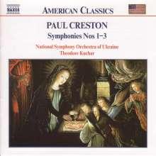 Paul Creston (1906-1985): Symphonien Nr.1-3, CD