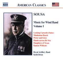 John Philip Sousa (1854-1932): Music for Wind Band Vol.1, CD