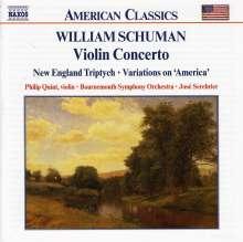 William Schuman (1910-1992): Violinkonzert, CD
