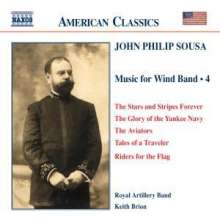 John Philip Sousa (1854-1932): Music for Wind Band Vol.4, CD