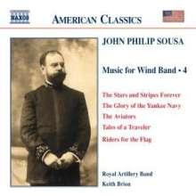 John Philip Sousa (1854-1932): Music for Wind Band Vol.4, CD
