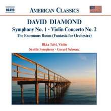 David Diamond (geb. 1915): Symphonie Nr.1, CD