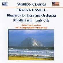 Craig Russell (geb. 1951): Rhapsodie für Horn & Orchester, CD