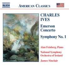 Charles Ives (1874-1954): Symphonie Nr.1, CD