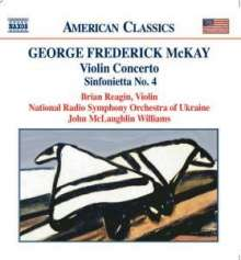 George Frederick McKay (1899-1970): Violinkonzert, CD