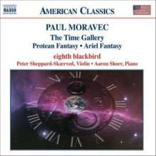 Paul Moravec (geb. 1957): The Time Gallery, CD