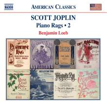 Scott Joplin (1868-1917): Piano-Rags Vol.2, CD
