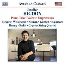 Jennifer Higdon (geb. 1962): Klaviertrio, CD
