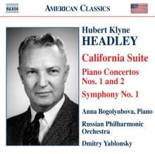 Hubert Klyne Headley (1906-1995): Symphonie Nr.1 für Radio, CD