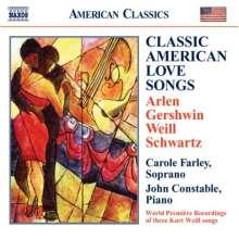 Carole Farley  - Classic American Love Songs, CD