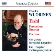 Charles Wuorinen (geb. 1938): Tashi (1975), CD