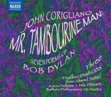 John Corigliano (geb. 1938): Mr.Tambourine Man - 7 Poemes of Bob Dylan, CD