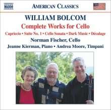 William Bolcom (geb. 1938): Sämtliche Werke für Cello, CD