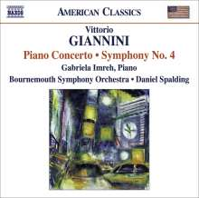 Vittorio Giannini (1903-1966): Symphonie Nr.4, CD