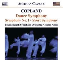 Aaron Copland (1900-1990): Symphonien Nr.1 & 2, CD