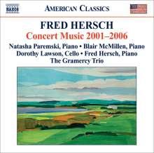 Fred Hersch (geb. 1955): Concert Music 2001-2006, CD