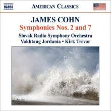 James Cohn (geb. 1928): Symphonien Nr.2 & 7 (op.13 & op.45), CD