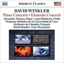 David Winkler (geb. 1948): Klavierkonzert (2006), CD