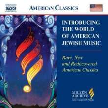 Introducing The World of American Jewish Music (Naxos), CD