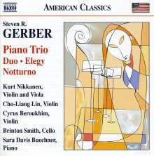 Steven Gerber (geb. 1948): Klaviertrio, CD