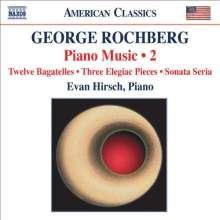 George Rochberg (geb. 1918): Klaviermusik Vol.2, CD