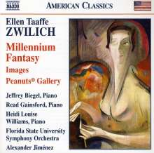 Ellen Taaffe Zwilich (geb. 1939): Millennium Fantasy, CD