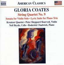 Gloria Coates (geb. 1938): Streichquartett Nr.9, CD