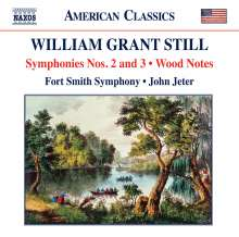 William Grant Still (1895-1978): Symphonien Nr.2 & 3, CD