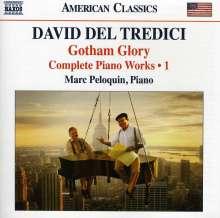 David del Tredici (geb. 1937): Sämtliche Klavierwerke Vol.1, CD
