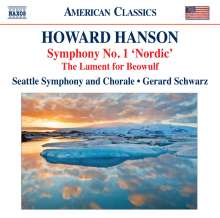 Howard Hanson (1896-1981): Symphonie Nr.1, CD