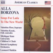 Alla Borzova (geb. 1961): Songs For Lada, CD