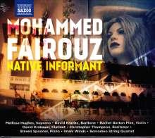 "Mohammed Fairouz (geb. 1985): Sonate für Violine solo ""Native Informant"", CD"