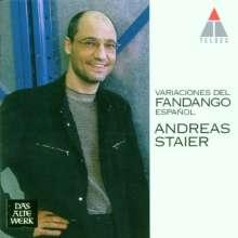 Andreas Staier - Variaciones del fandango espanol, CD