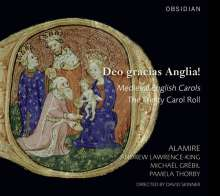 Deo gracias Anglia! - Medieval English Carols, CD