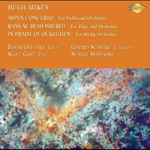 Aitken: Aspen Concerto; Rameau Remembered; In Praise Of Ockeghem, CD