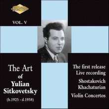 The Art of Yulian Sitkovetsky, CD